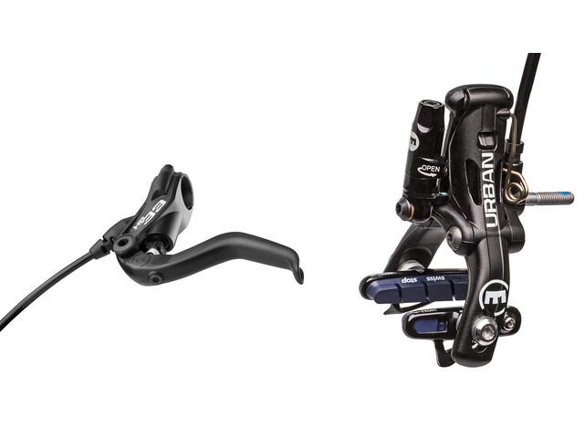 Magura HS33 R Urban - Set freins sur jante - roue arrière 2 doigts noir